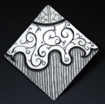 zentangle brooch 1